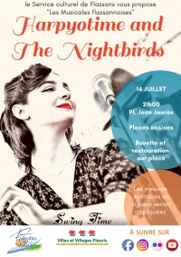 Les Musicales flassannaises : Harpyotime and the Nightbirds